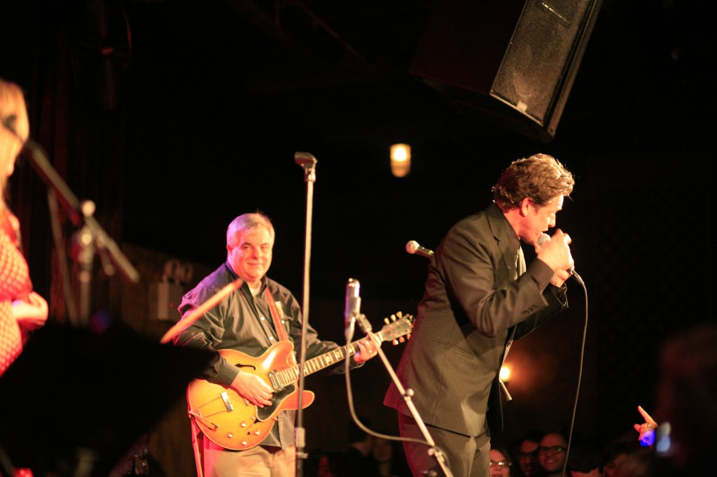 The Old Perfesser & Alex Battles, Johnny Cash Birthday Bash photo by Michelle Talich, (c) 2013