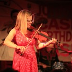 Fiddle K, Johnny Cash Birthday Bash photo by Michelle Talich, (c) 2013