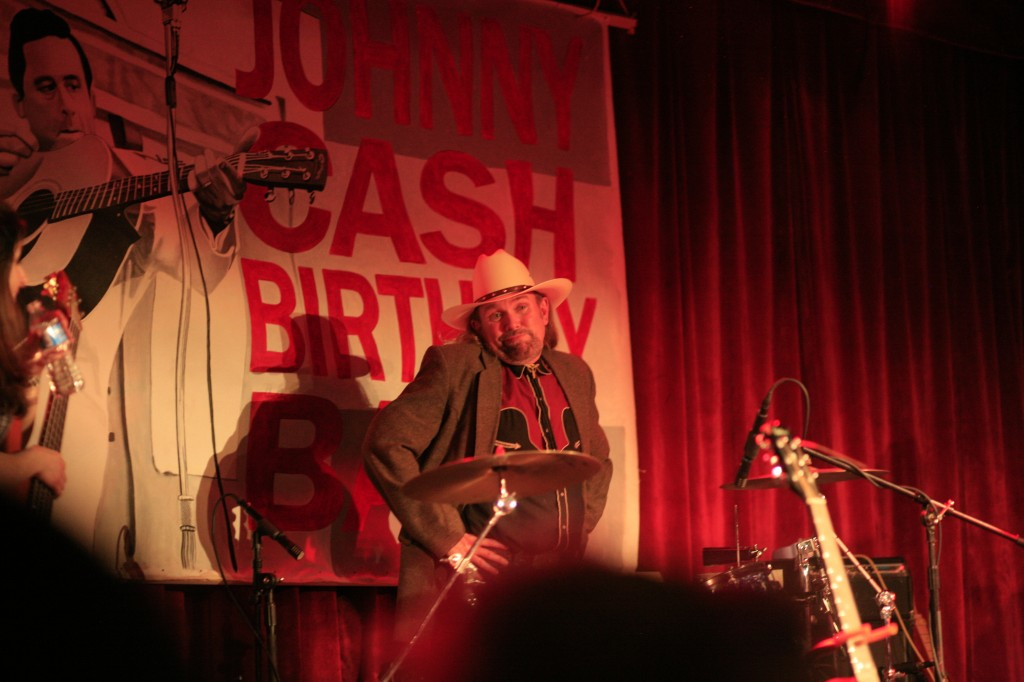 Charlie Shaw, Johnny Cash Birthday Bash photo by Michelle Talich, (c) 2013